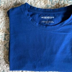 Armani men's classic fit T shirt